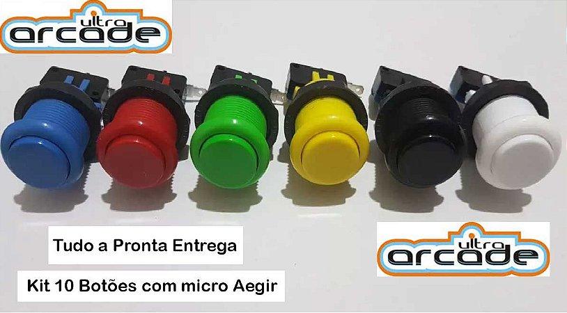 Botão de Nylon com Micro-chave AEGIR