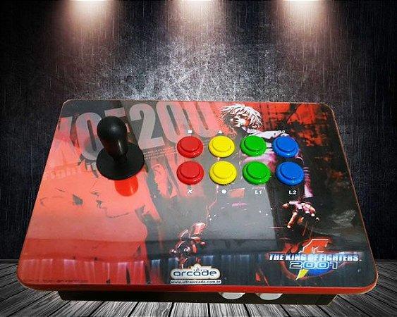 Controle Arcade zero delay 10 Botões. PC/PS3/PS4