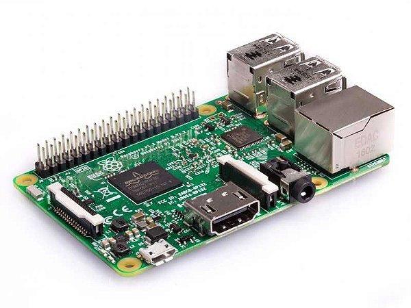 Raspberry Pi 3 Model B Quadcore 1.2ghz Sem Caixa