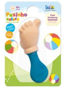 Mordedor Chocalho Pézinho Colors - Toyster