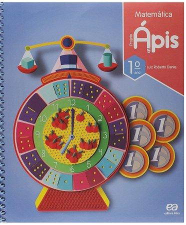 Projeto Ápis. Matemática - 1º ano [Spiral-bound] Dante, Luiz Roberto