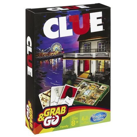 Hasbro Gaming Jogo Gaming Clue Grab & Go
