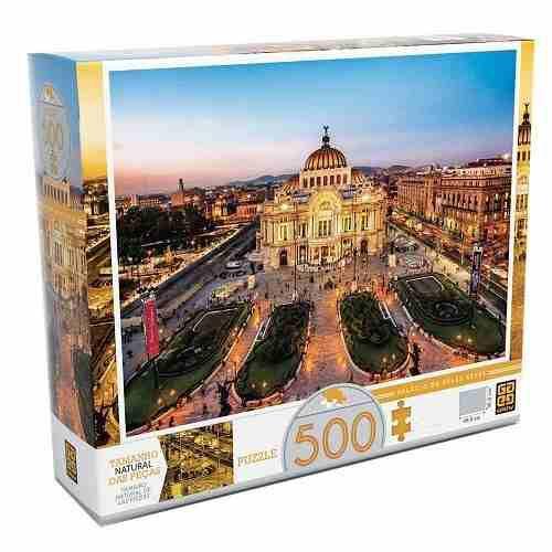 Quebra-cabeça 500 peças Palácio de Belas Artes