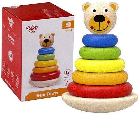 Urso - torre de encaixe