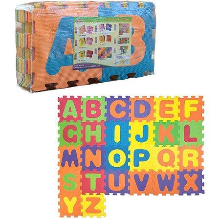 Tapete de Letras 26 PÇS - Ciabrink