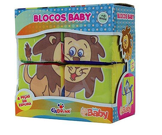 Blocos Baby Leão - 4 peças CIABRINK