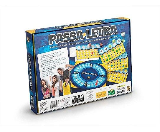 Jogo Passa letra GROW