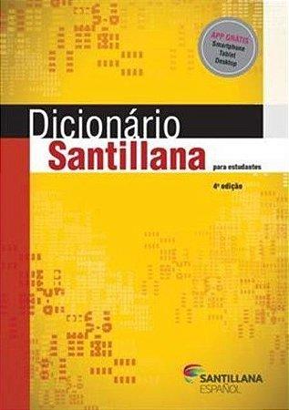 Dicionário Santillana Para Estudantes [Paperback] Miguel Diaz