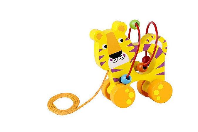 Tigre de Puxar - Tooky Toy