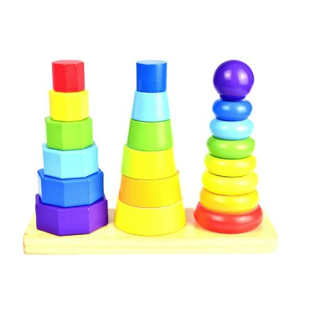 Forma Geométrica - Encaixe - Tooky Toy