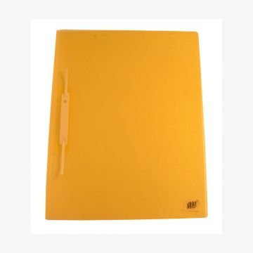 Pasta Grampo Trilho Ofício Yes - Amarelo