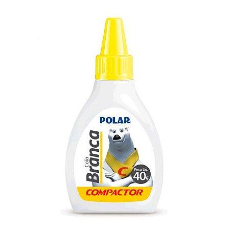 COLA POLAR BRANCA 40g - COMPACTOR