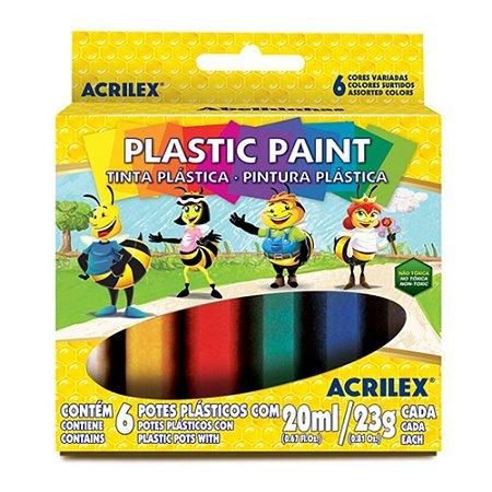 Cola colorida 23g 6 cores - Acrilex