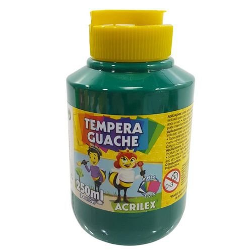 TEMPERA GUACHE 250 ML VD BANDEIRA ACRILEX