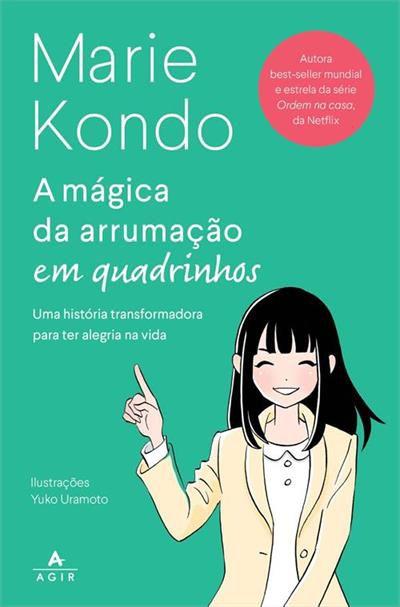 A Mágica da Arrumação em Quadrinhos - Marie Kondo