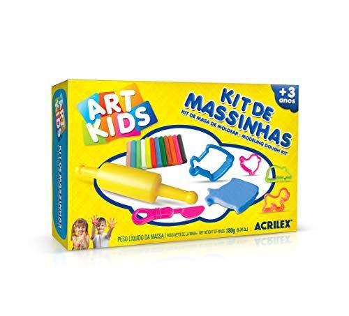 KIT DE MASSINHAS ARTKIDS 180G ACRILEX