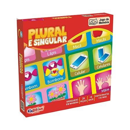 Jogo da Memória - Plural e Singular