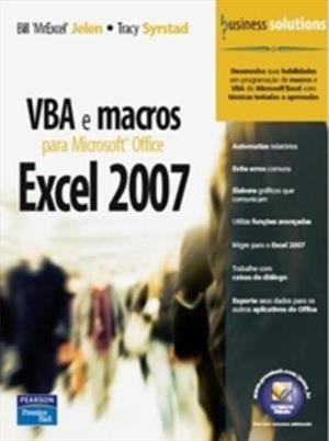 VBA e macros Excel 2007