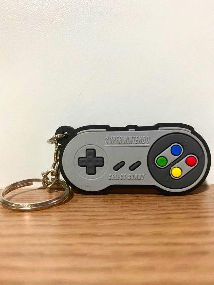 Chaveiro de borracha Super Nintendo