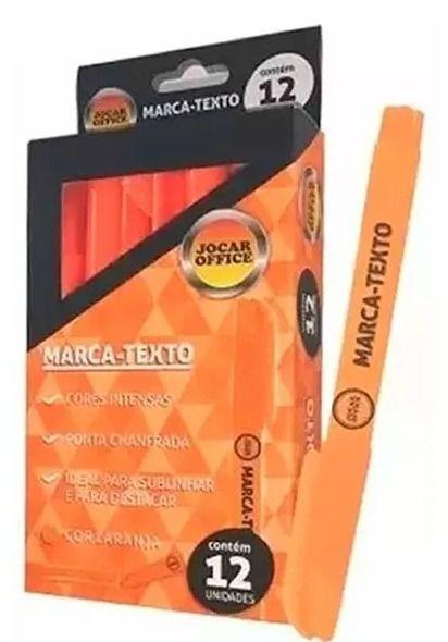 marca texto laranja (cx c/12) - Jocar