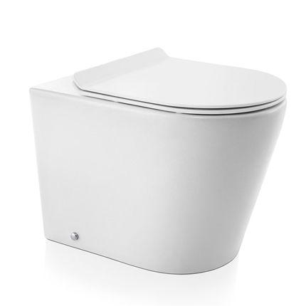 Docol Bacia Convencional Liss Branco + Assento + Acessórios de Fixação Cromado