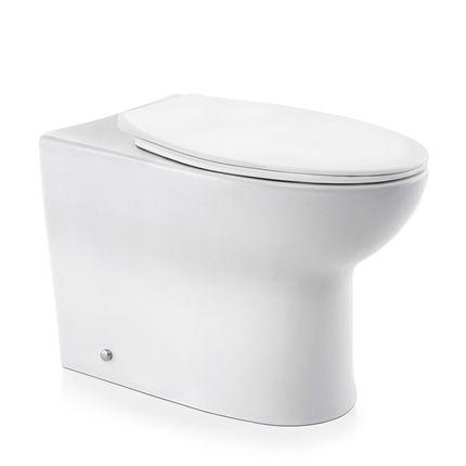 Docol Bacia Lóggica Convencional Branco + Assento + Acessórios de Fixação Cromado