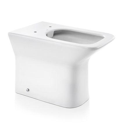 Docol Bacia Stillo Convencional Branco + Assento + Acessórios de Fixação Cromado