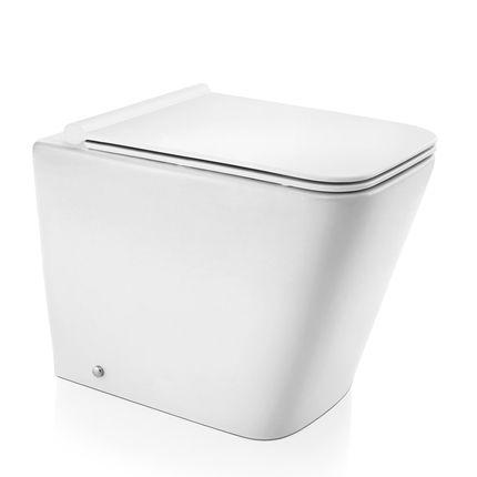 Docol Bacia Vougan Convencional Branco + Assento + Acessórios de Fixação Cromados