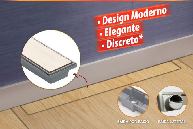 Ralo Inteligente 7x90cm Lateral Costa Navarro