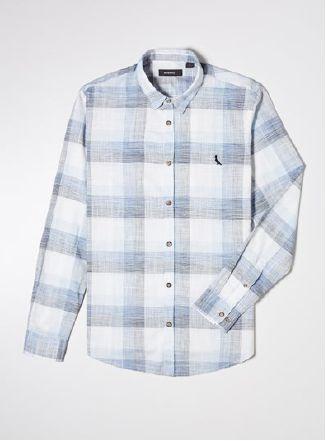 Camisa Reserva Xadrez Realce