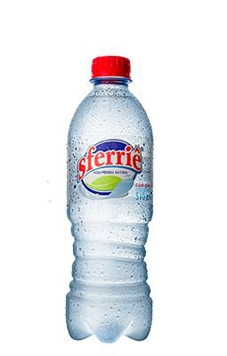 Água Mineral Sferrie com Gás 510 ml Pet (Pack 12 garrafas)