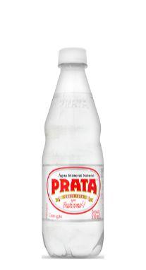 Água Mineral Prata com Gás 510 ml Pet (Pack 12 garrafas)
