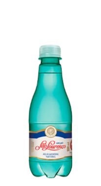 Água Mineral São Lourenço sem Gás 300 ml Pet  (Pacote/Fardo 12 garrafas)