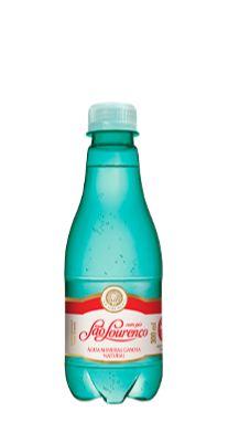 Água Mineral São Lourenço com Gás 300 ml Pet  (Pacote/Fardo 12 garrafas)