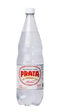 Água Mineral Prata com Gás 1,27 L Pet  (Pacote/Fardo 06 garrafas)