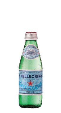 Água Mineral San Pellegrino Com Gás 250 ml Pet (Pacote/Fardo 24 garrafas)