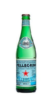 Água Mineral San Pellegrino Com Gás 505ml (Pacote/Fardo 24 garrafas)