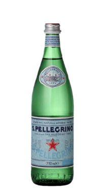 Água Mineral San Pellegrino Com Gás 750 ml (Pacote/Fardo 15 garrafas)