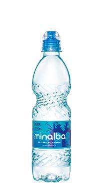 Água Mineral Minalba Sport sem Gás 600 ml Pet (Pacote/Fardo 12 garrafas)