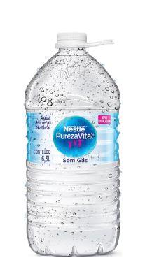 Galão de 6,3lts litros Água Mineral Pureza Vital descartável (pcte com 2 unid.)