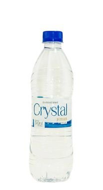 Água Mineral Crystal Premium Sem Gás 510 ml Pet (Pacote/Fardo 12 garrafas)