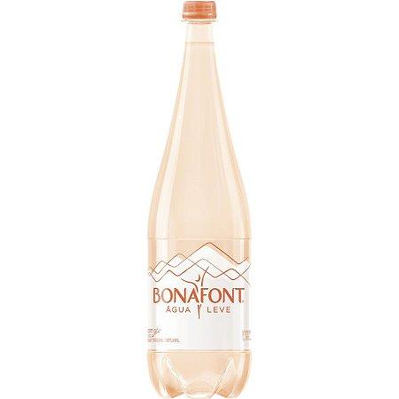 Água Mineral Bonafont Com Gás 1,36 lts Pet (Pacote/Fardo 6 garrafas)