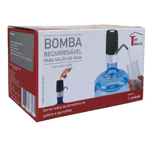 Bomba Elétrica para Galão de Água(USB)