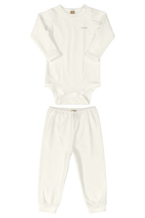 Pijama Body e Calça Malha Energy Thermo Natural Up Baby