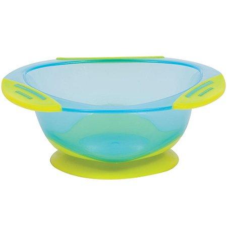Pratinho Bowl Azul com Ventosa - Buba