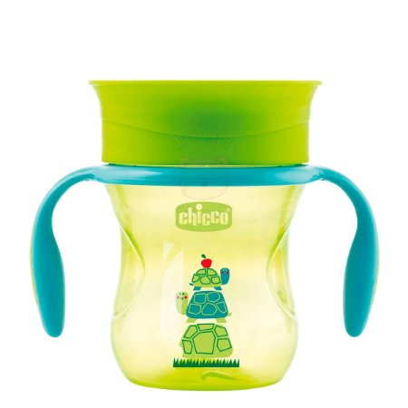 Copo 360 Perfect Cup 12M + Verde Chicco