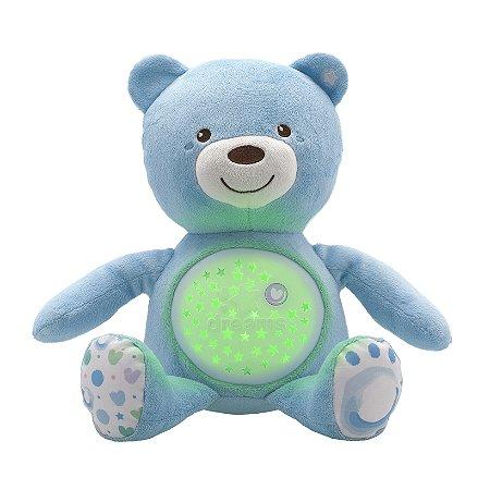 Ursinho Projetor com Música Azul Chicco
