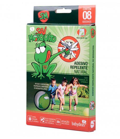Adesivo Repelente Natural Sai Mosquito - Babydeas