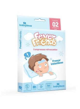 Compressas Refrescantes Fever Friends - Babydeas