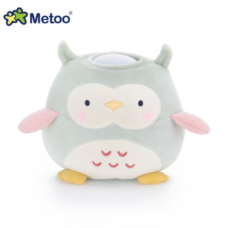 Brinquedo de Pelúcia Luminária Coruja - Metoo